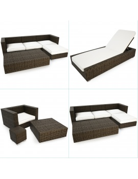 cube-resin-outdoor-furniture-set-3d-model