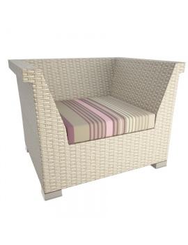 resin-outdoor-armchair-rio-3d-model