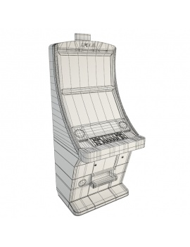 slot-machine-casino-apex-gaming-psl27-3d-model-wireframe