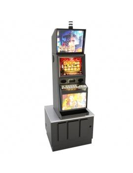 machines-a-sous-casino-moulin-rouge-modele-3d