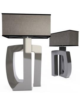 arobase-table-lamp-faiencerie-de-charolles-3d-model