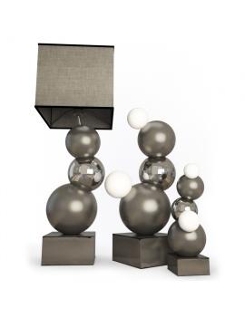 bubblebis-floor-lamp-faiencerie-de-charolles-3d-model