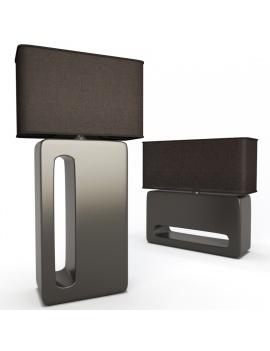 calypso-table-lamp-faiencerie-de-charolles-3d-model