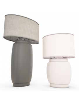 titania-table-lamp-faiencerie-de-charolles-3d-model