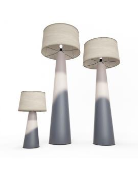 tosca-floor-lamp-faiencerie-de-charolles-3d-model
