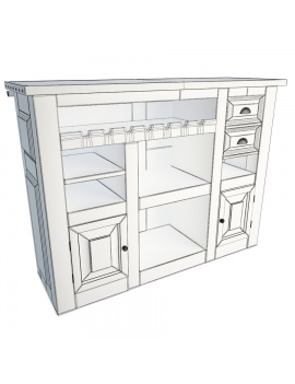 wooden-rustic-bar-counter-luberon-3d-model-back-wireframe