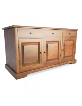 wooden-rustic-buffet-luberon-3d-model