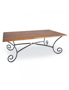 wooden-french-luberon-rectangular-table-model-3d