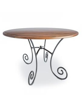 table-ronde-en-bois-luberon-modele-3d