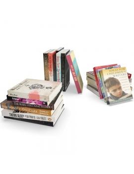 set-of-books-3d-model
