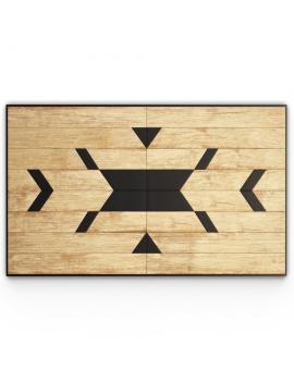 decorative-wood-panel-3d-model