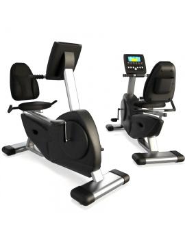 sports-equipment-horizontal-bike-3d-model