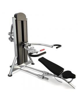 materiel-de-salle-de-sport-multi-purpose-chest-press-modele-3d