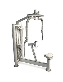 sports-equipment-peck-back-3d-model-wireframe
