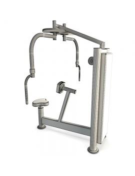 sports-equipment-peck-back-3d-model-01-wireframe