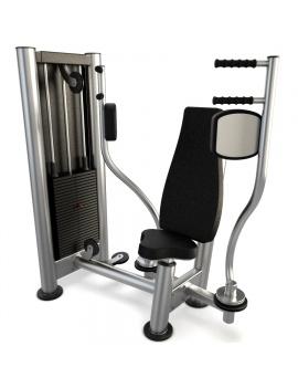 materiel-de-salle-de-sport-pectoral-machine-modele-3d