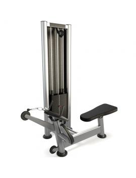 materiel-de-salle-de-sport-pulley-row-machine-modele-3d