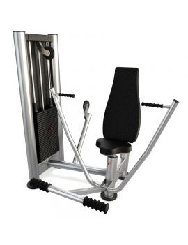 materiel-de-salle-de-sport-vertical-chest-press-modele-3d