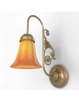 antique-brass-wall-lamp-thorton-3d-model