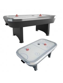 table-de-air-hockey-modele-3d
