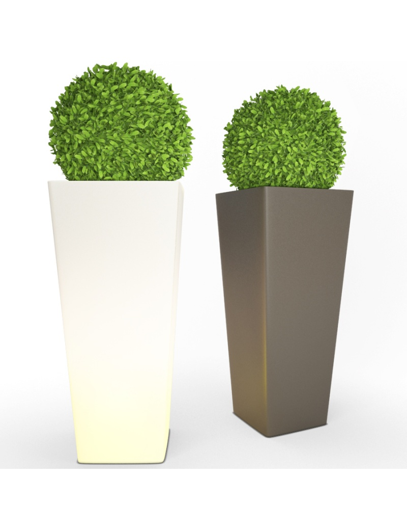 large-all-so-quiet-plastic-pot-and-bush-3d-model