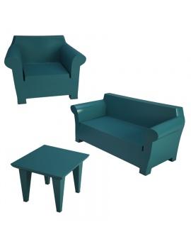 set-of-bubble-garden-furniture-starck-3d-model