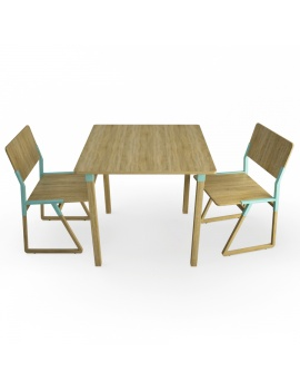 noem-wooden-table-and-chairs-3d-models