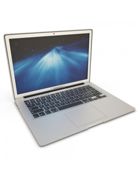 mac-book-air-apple-modele-3d