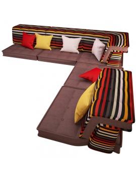 composable-sofa-mah-jong-roche-bobois-3d-model