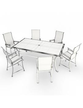 outdoor-metallic-furniture-lounge-3d-models-wireframe