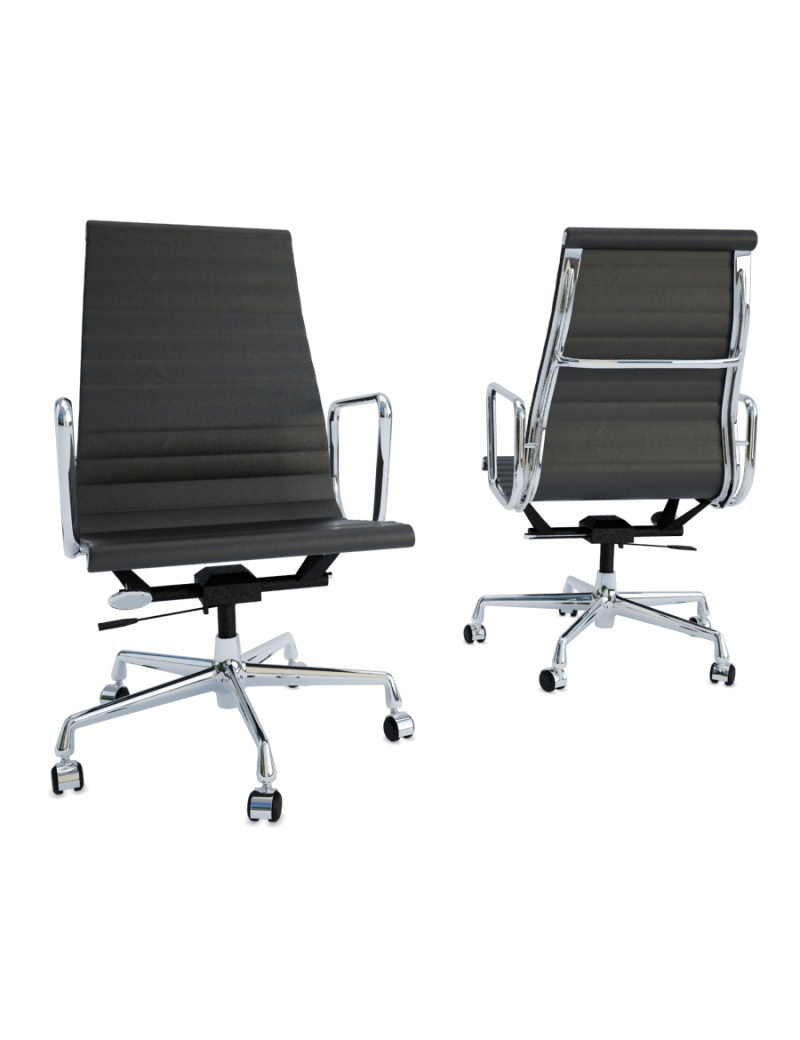 black-office-chair-3d-model