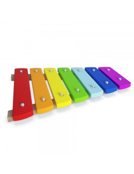 colorful-wooden-toys-for-kids-3d-model-xylophone