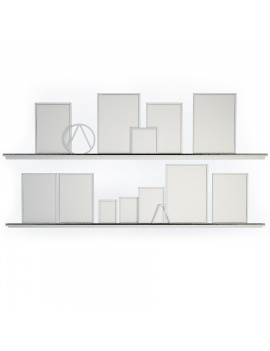 decorative-set-shelves-with-boards-3d-model-wireframe