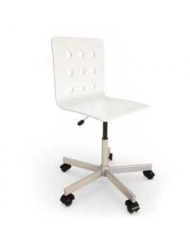 white-office-chair-3d-model