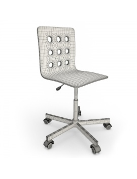 white-office-chair-3d-model-wireframe