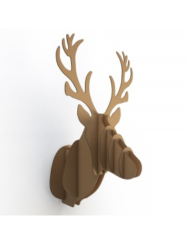 cardboard-sculpture-animals-set-3d-model-deer