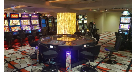 Interior design of a Casino