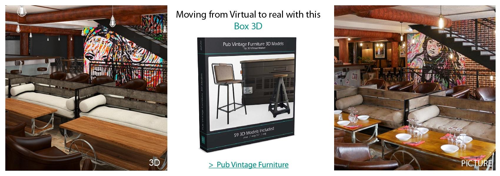 Box Pub Vintage Furniture Lighting